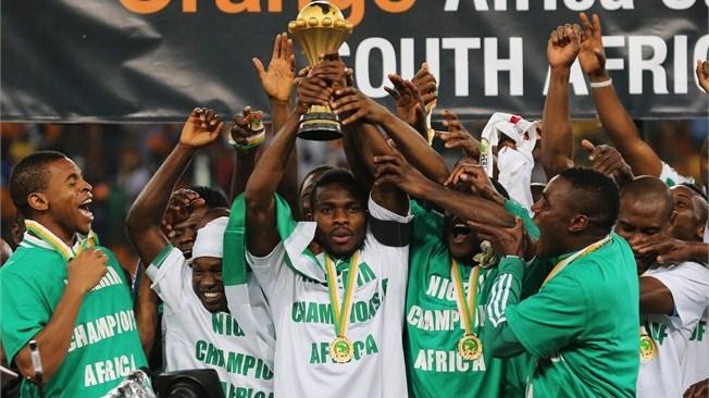 teamfoto voor Nigeria